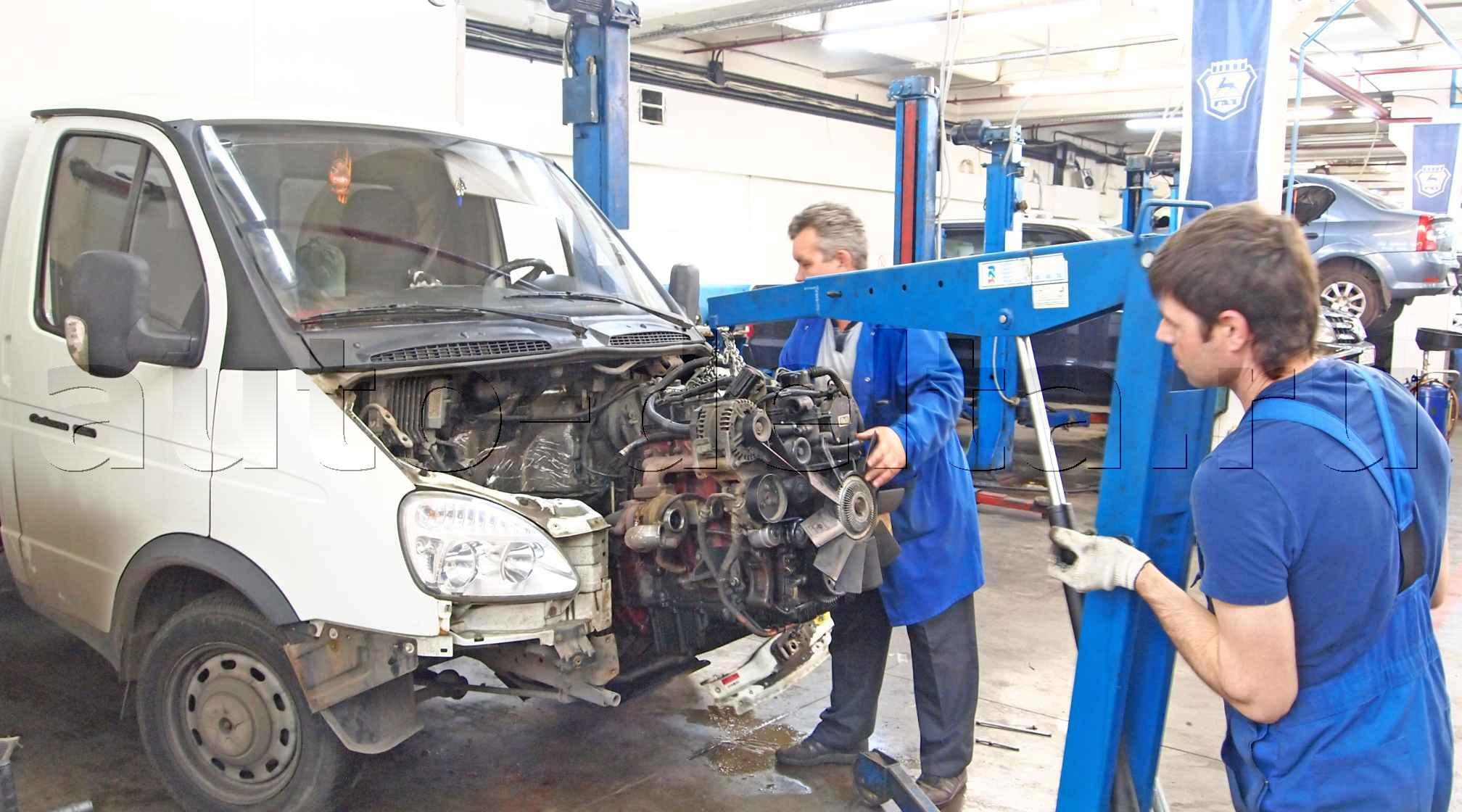 Ремонт двигателей автомобилей своими руками 486