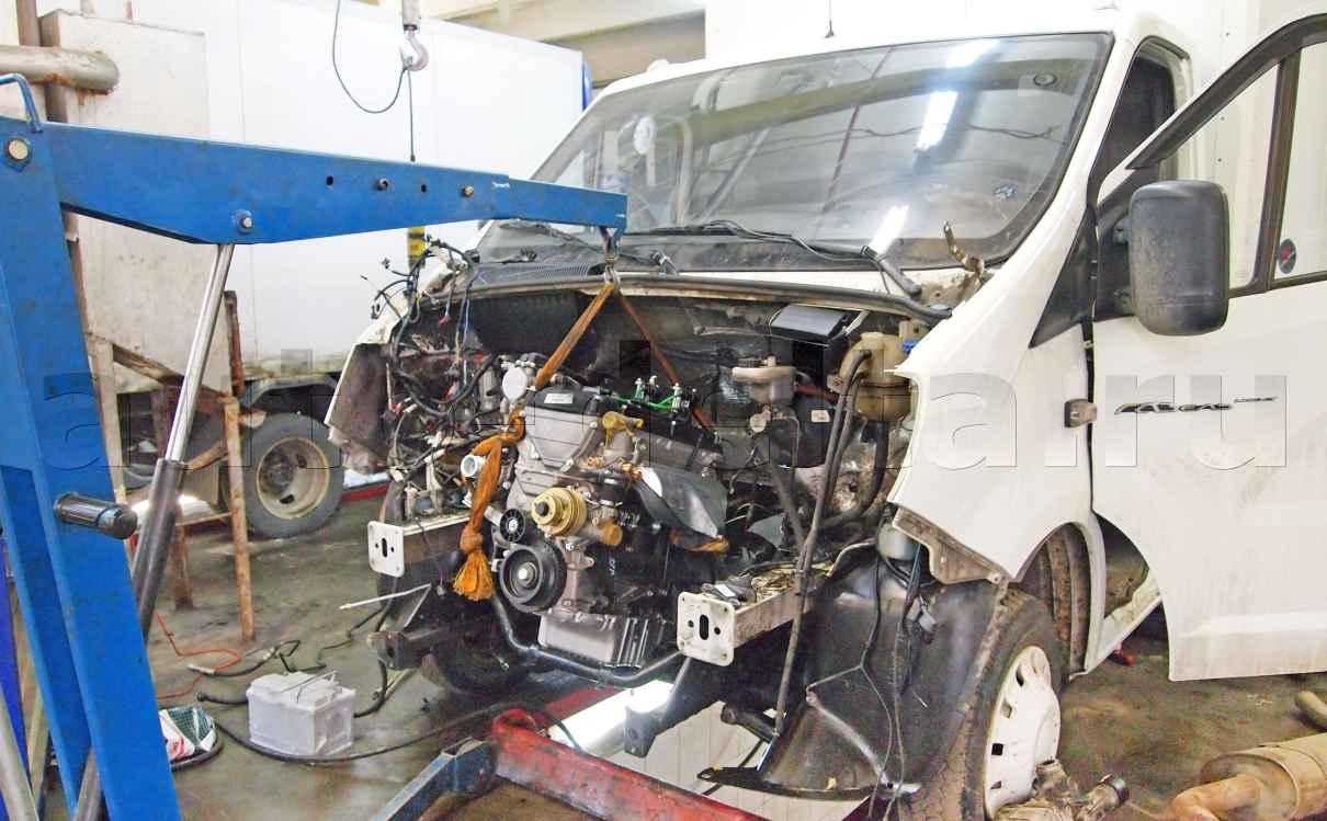 схема замены двигателс4216 на405
