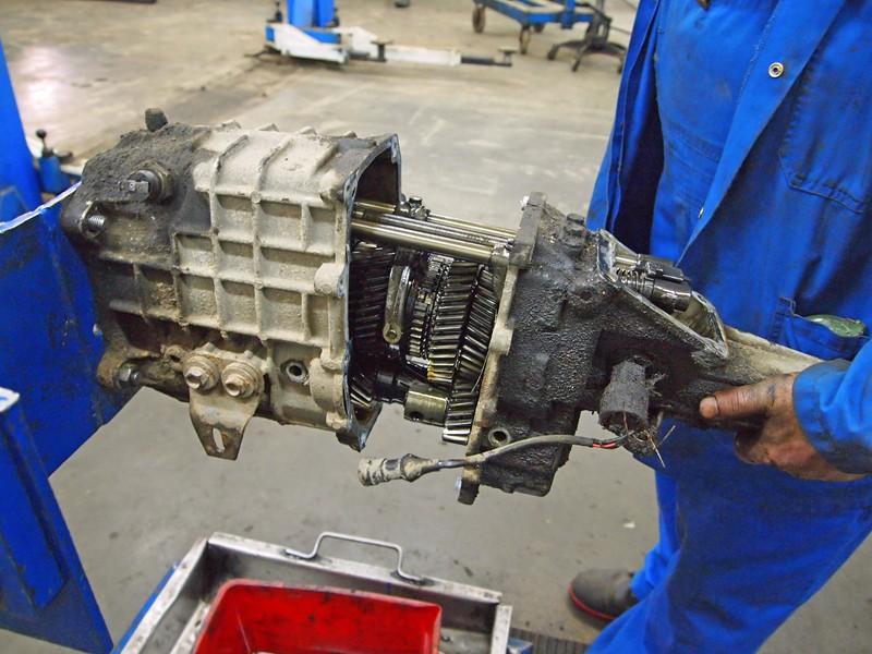 Ремонт механических коробок передач своими руками 85